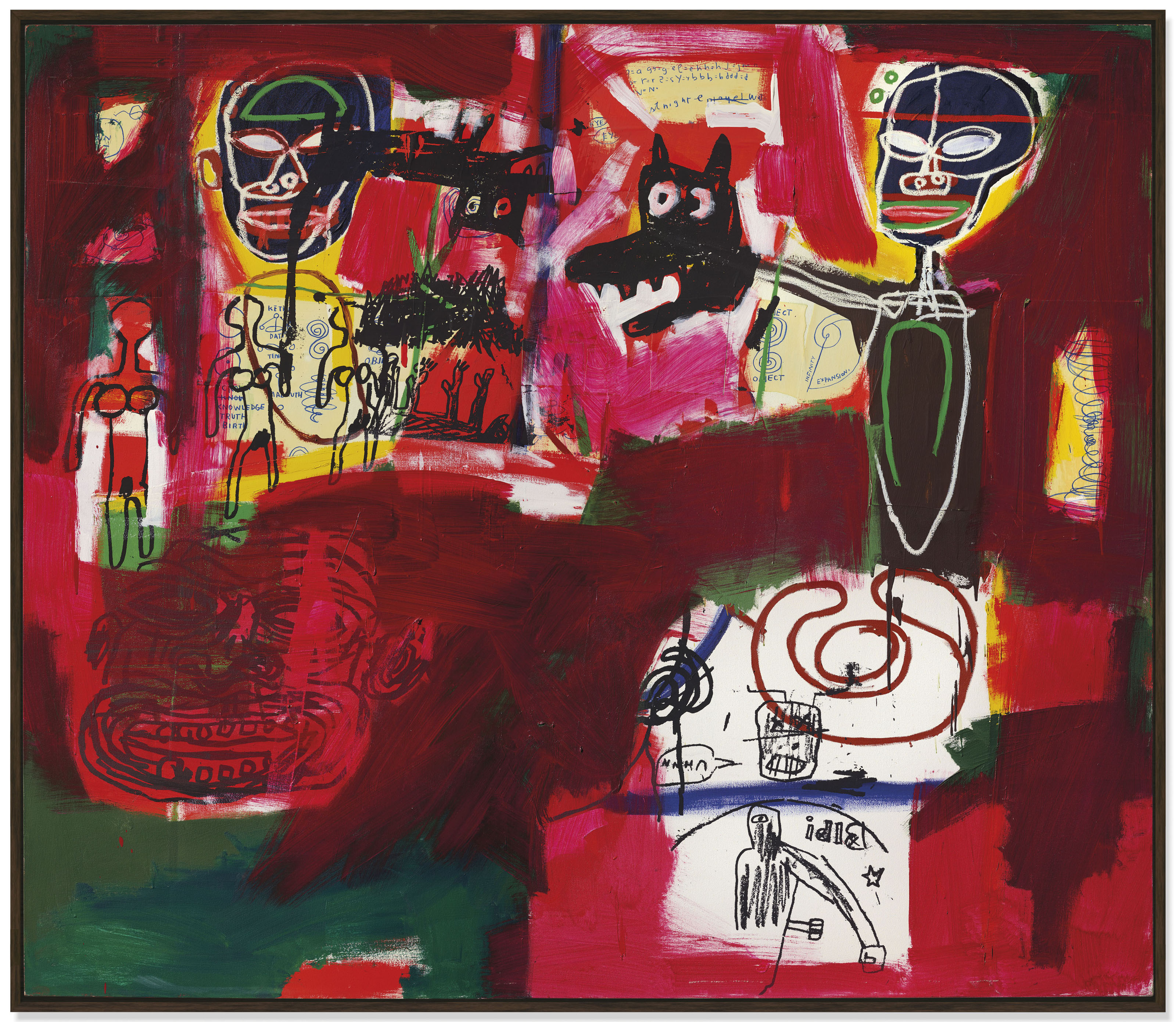 $10.7 M. Basquiat Sells at $57.6 M. Christie's Contemporary Sale in London