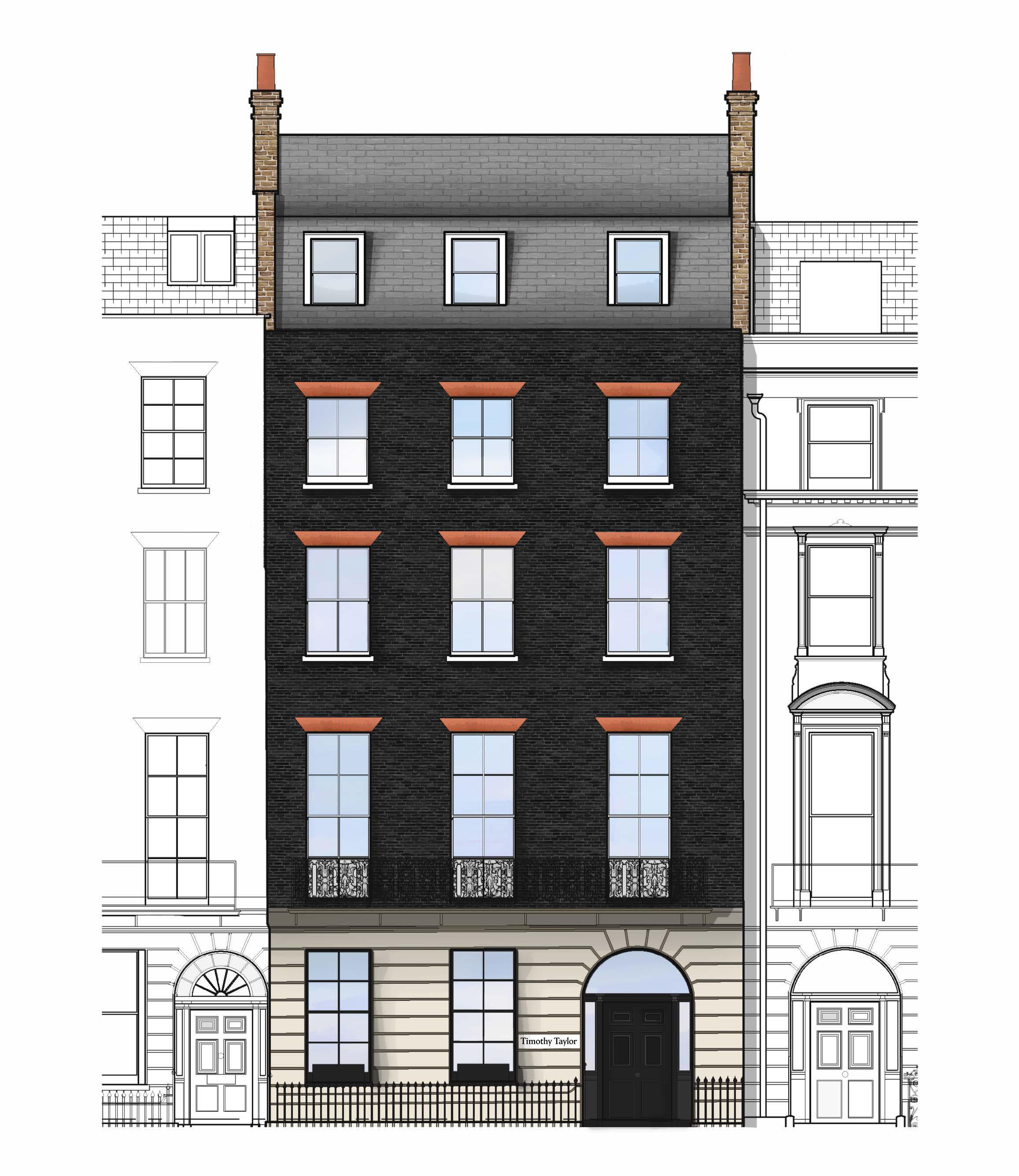 Timothy Taylor Gallery Relocates in London to Townhouse Double Its Size