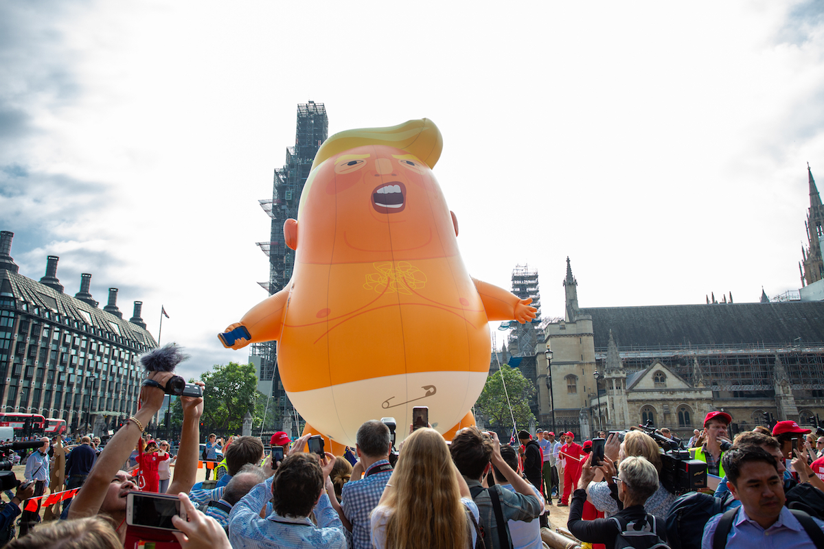 Art en Route: Museum of London Eyes Trump Baby Balloon, Art Institute of Chicago Deaccessions Chinese Artworks, and More