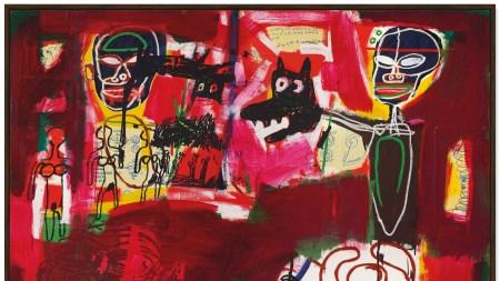 Jean-Michel Basquiat sold for $10.7 million.