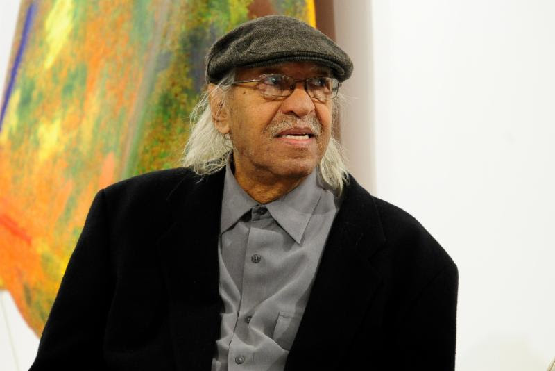 Joe Overstreet, Purposeful Painter Who Made Space for Artists of Color, Is Dead at 85