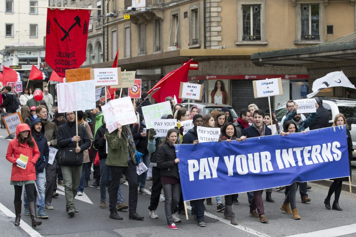 Culture Workers, Just Say No to All Unpaid Internships