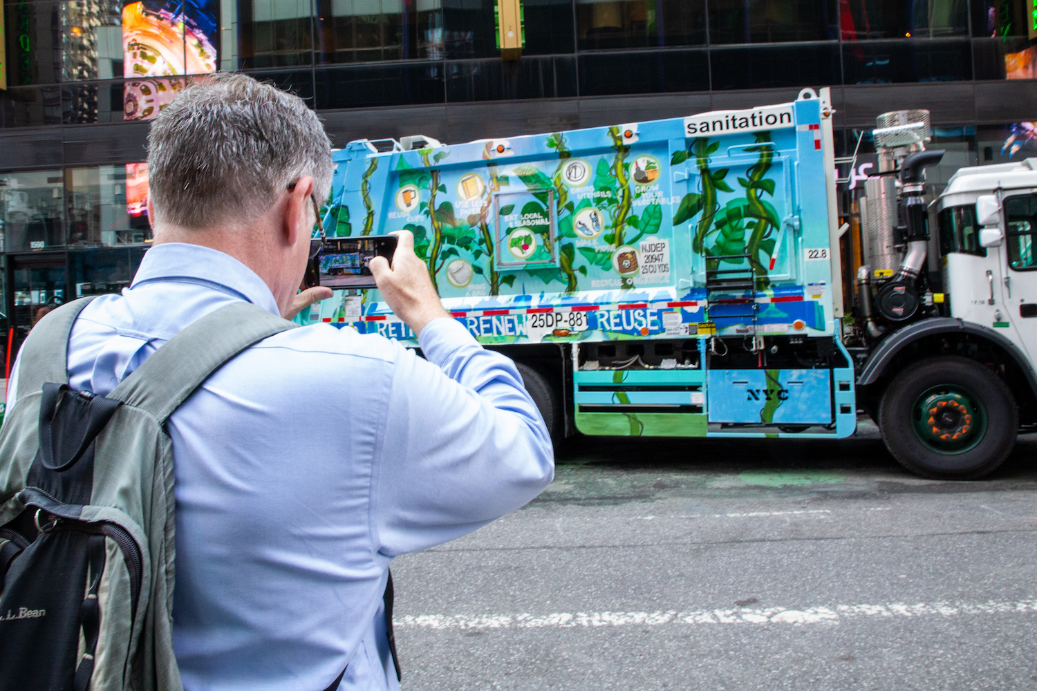 Hand-Painted Garbage Trucks Launched by the New York City Department of Sanitation