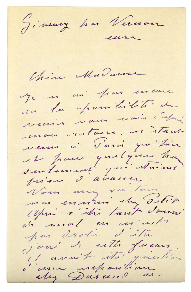 Monet Slammed Dealer's Plan for Unauthorized Display of His Work in 1888 Letter: Read It Here