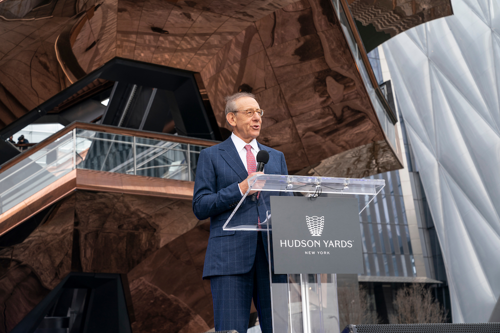 Developer Stephen Ross, Equinox Owner and Shed Board Member, Hit With Protests Over Trump Fundraiser -