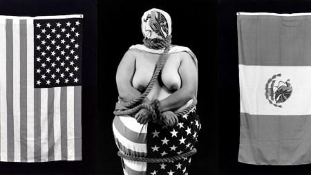 Laura Aguilar, Three Eagles Flying, 1990,