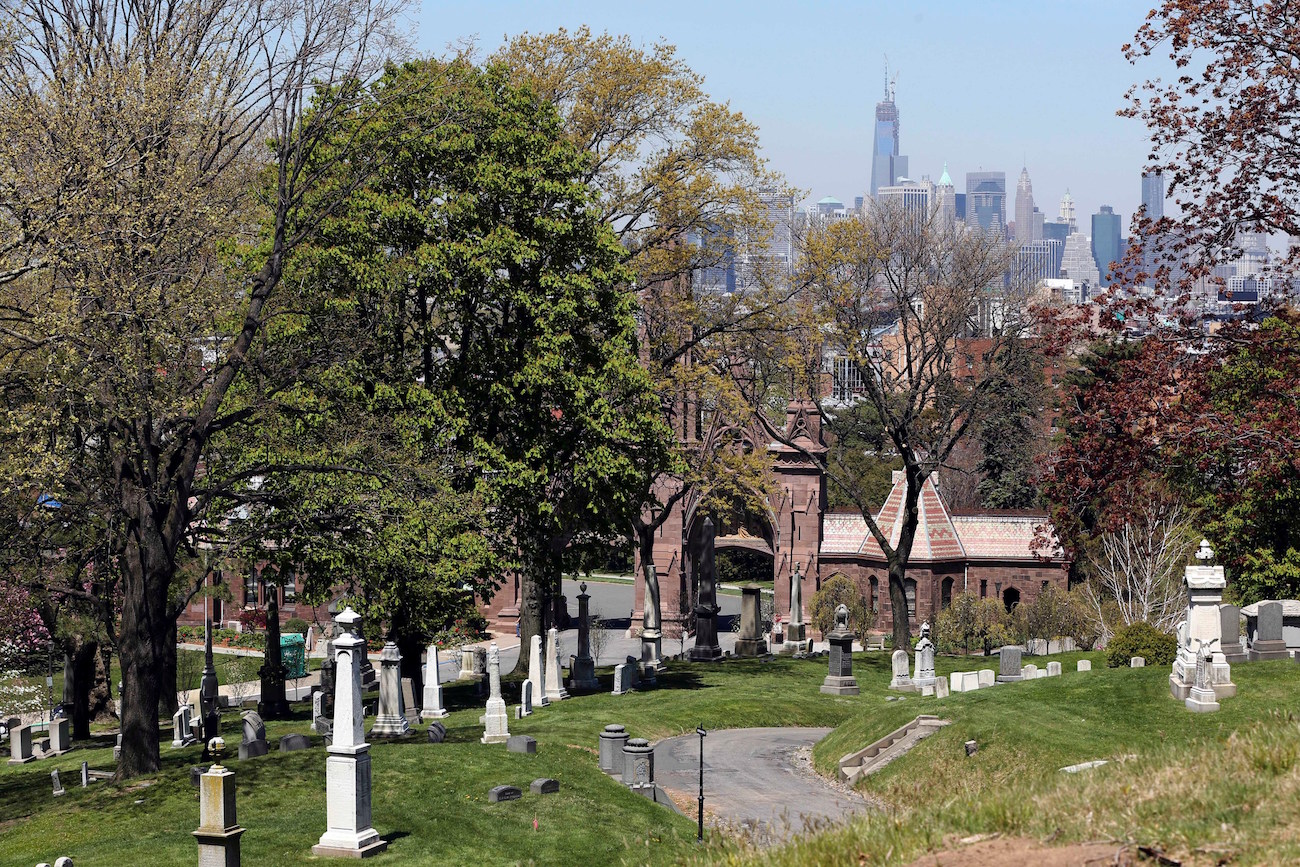 Graveyard Shift: At Storied Brooklyn Cemetery, Janine Antoni Stages Artwork Amid 560,000 Bodies