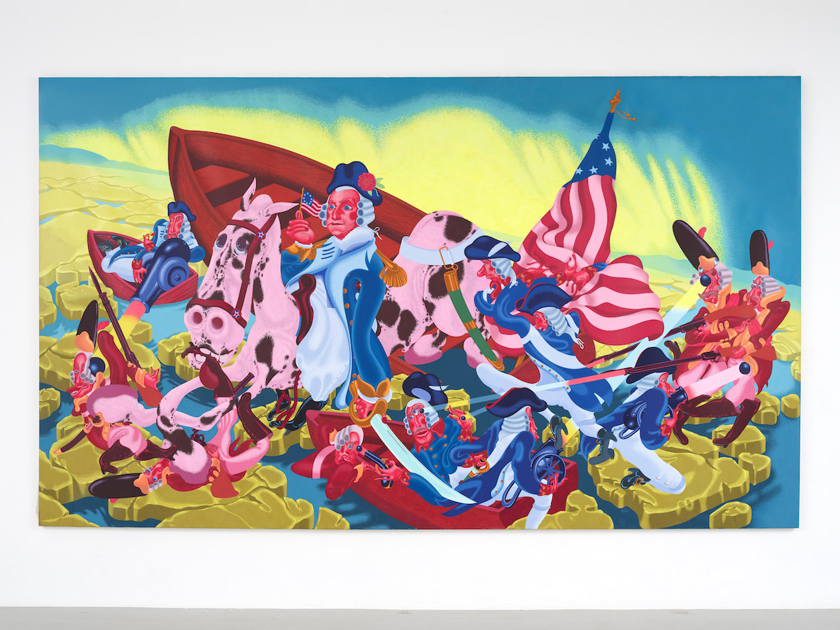 'A Great, Somewhat Unsung Master of Contemporary Painting': Peter Saul to Have New Museum Survey in 2020