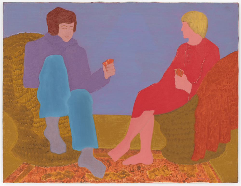 March Avery's Paintings Turn Everyday Scenes into Dynamic Interactions of Colors and Shapes