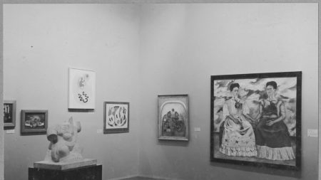 Installation view of 'Twenty Centuries of