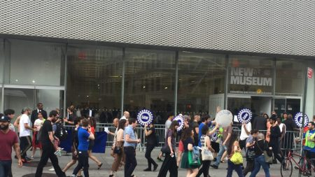A New Museum Union action in