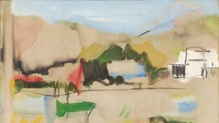 Jane Freilicher Landscape in Water Mill