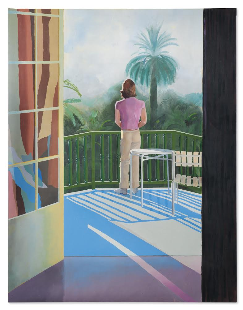 Little-Seen David Hockney Painting of Former Lover and Muse Goes to Auction at Christie's, with $25-$45 M. Estimate