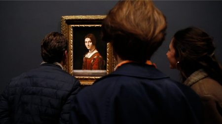 Leonardo da Vinci's 'La Belle Fornière'