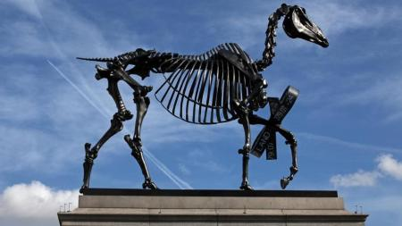 Hans Haacke's 'Gift Horse'