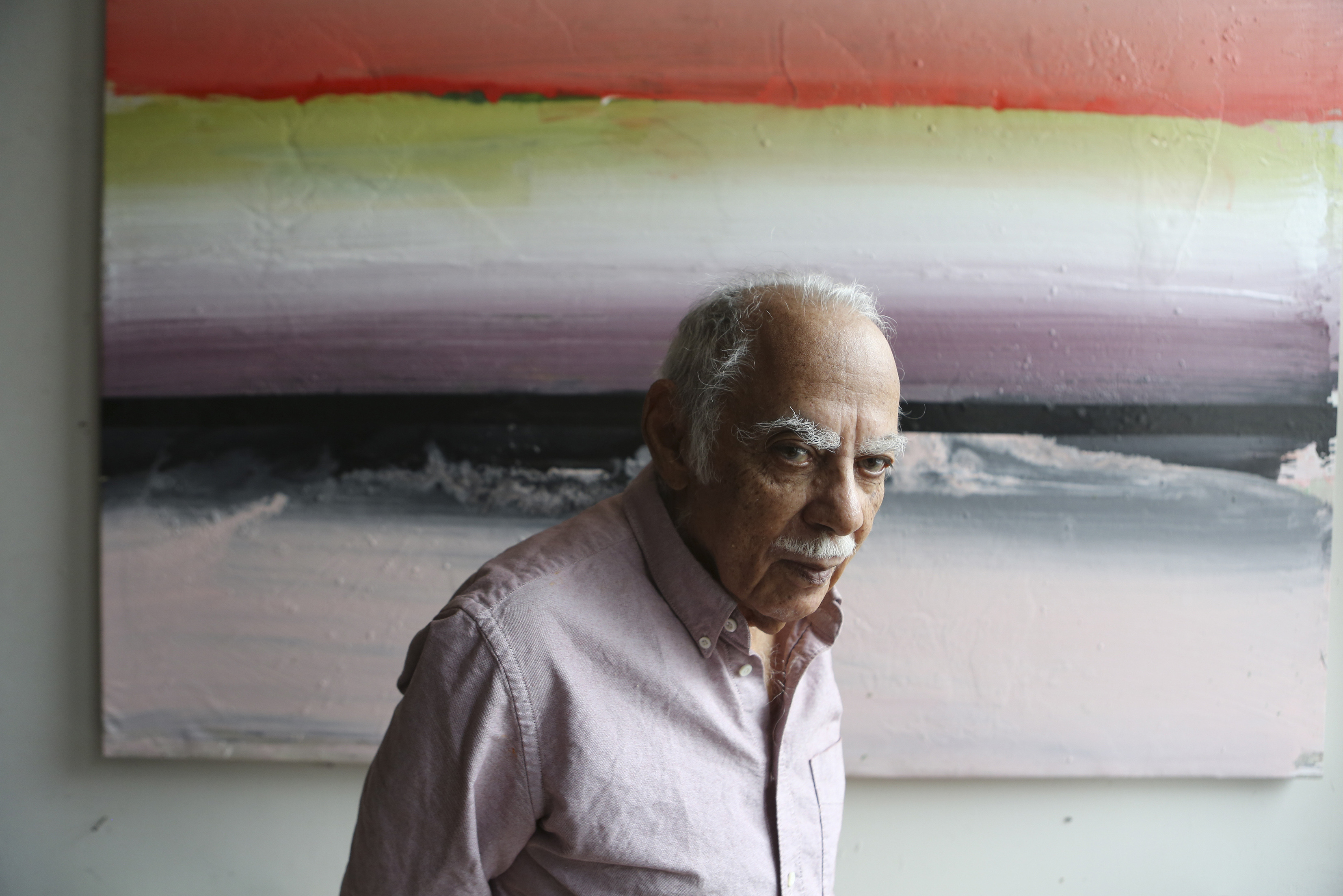 Ed Clark, Key Postwar Artist Who Changed the Shape of Abstract Painting, Is Dead at 93 -