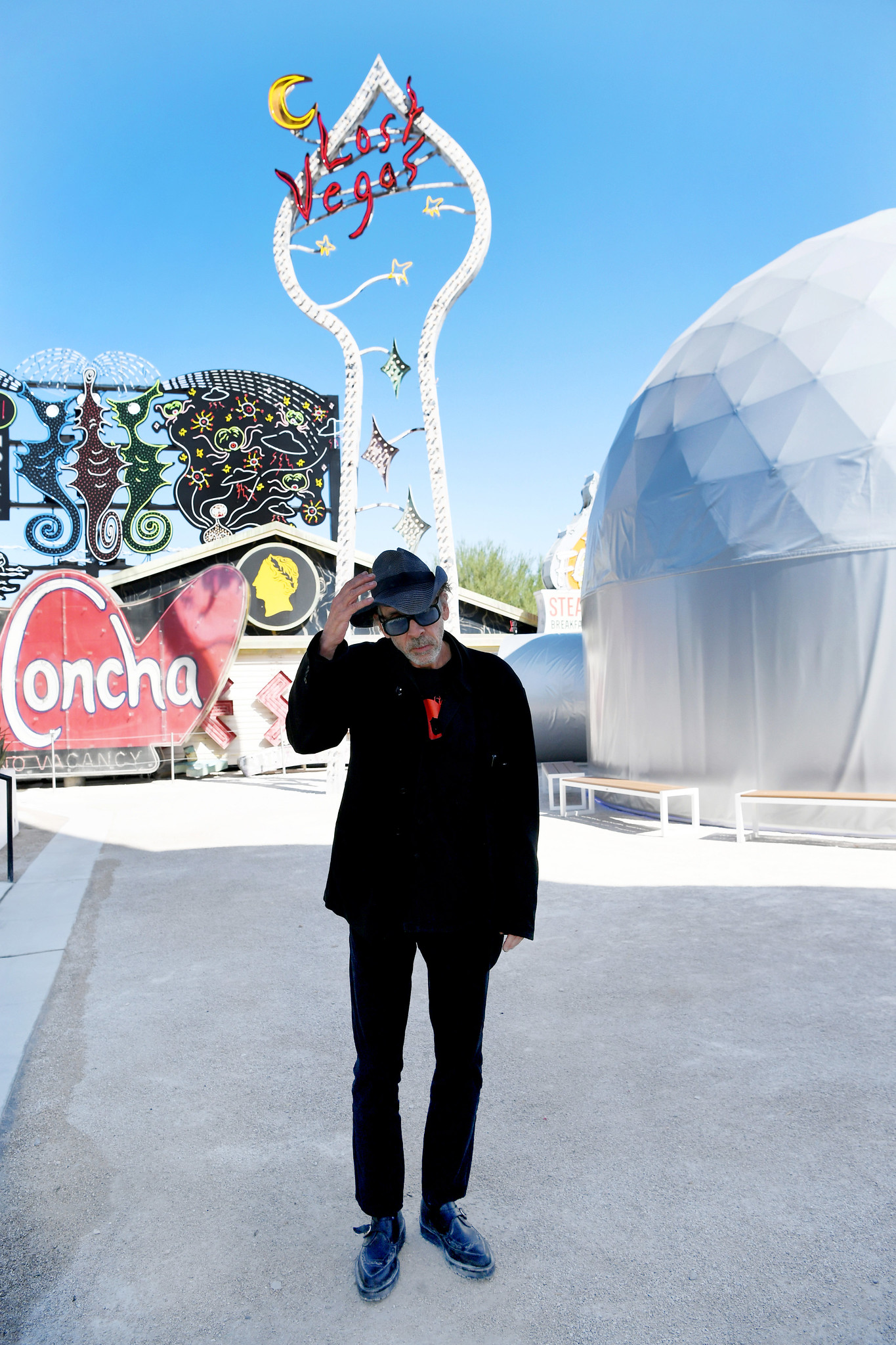 Tim Burton's Show at the Neon Museum Show in Las Vegas Is a Fantastical Love Letter to the City: See Inside