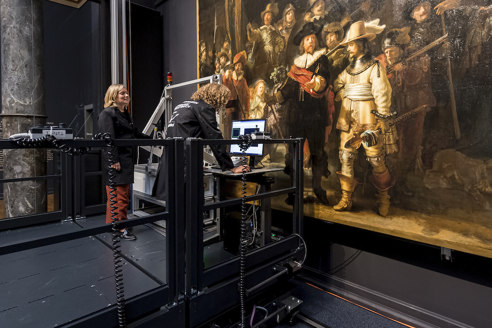 Rembrandt's Legendary 'Night Watch' Is Being Studied in Front of a Live Audience. What Will Scholars Discover?
