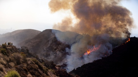 Getty Museum Closes as California Wildfires