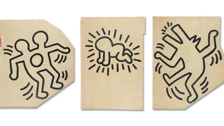 Keith Haring Mural Heads to Auction,