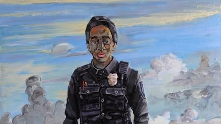 Review: Amer Kobaslija's Paintings in 'Florida