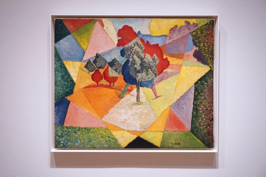 Diego Rivera, Cubist Landscape, 1912.