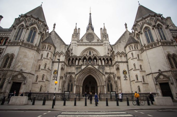 General View of The Royal Courts