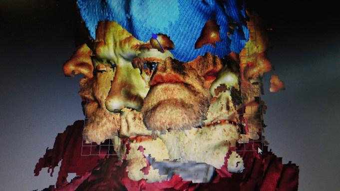 Michael Stipe face scan