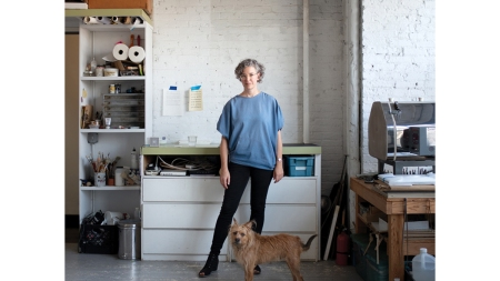 Ulrike Müller Interview about Enamel Painting