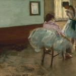 Edgar Degas, 'The Dance Lesson,' ca.