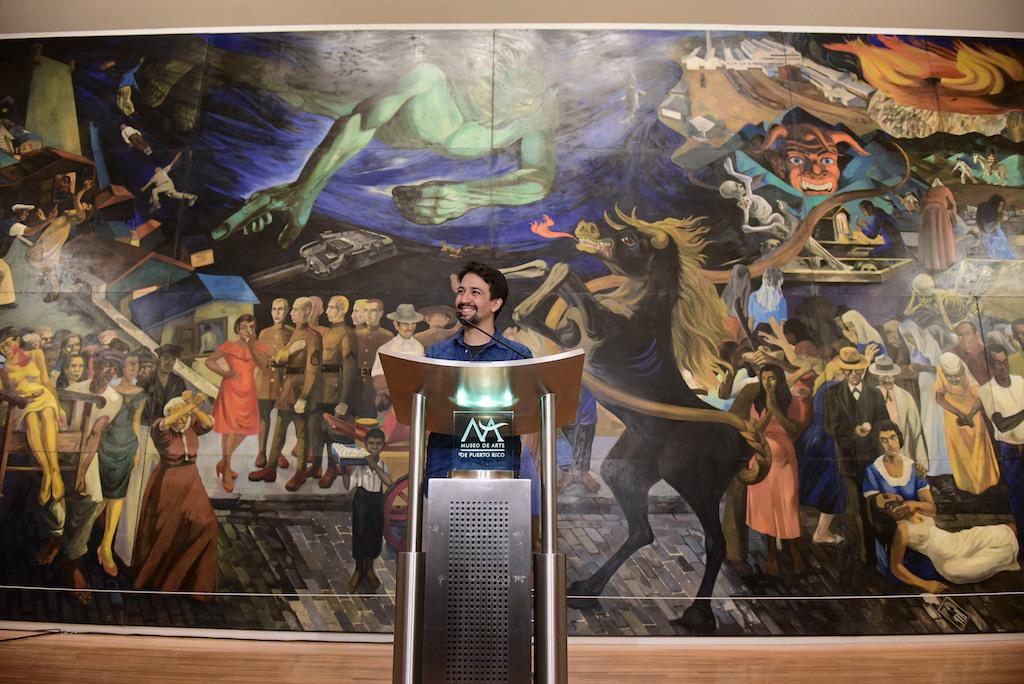 Lin-Manuel Miranda Teams Up with Google for Major Art Digitization Project in Puerto Rico