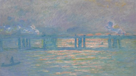 Claude Monet, 'Charing Cross Bridge', 1903.
