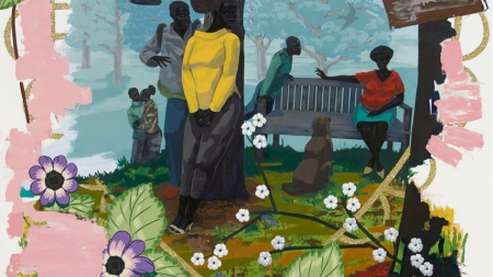 Kerry James Marshall, Vignette 19, 2014,