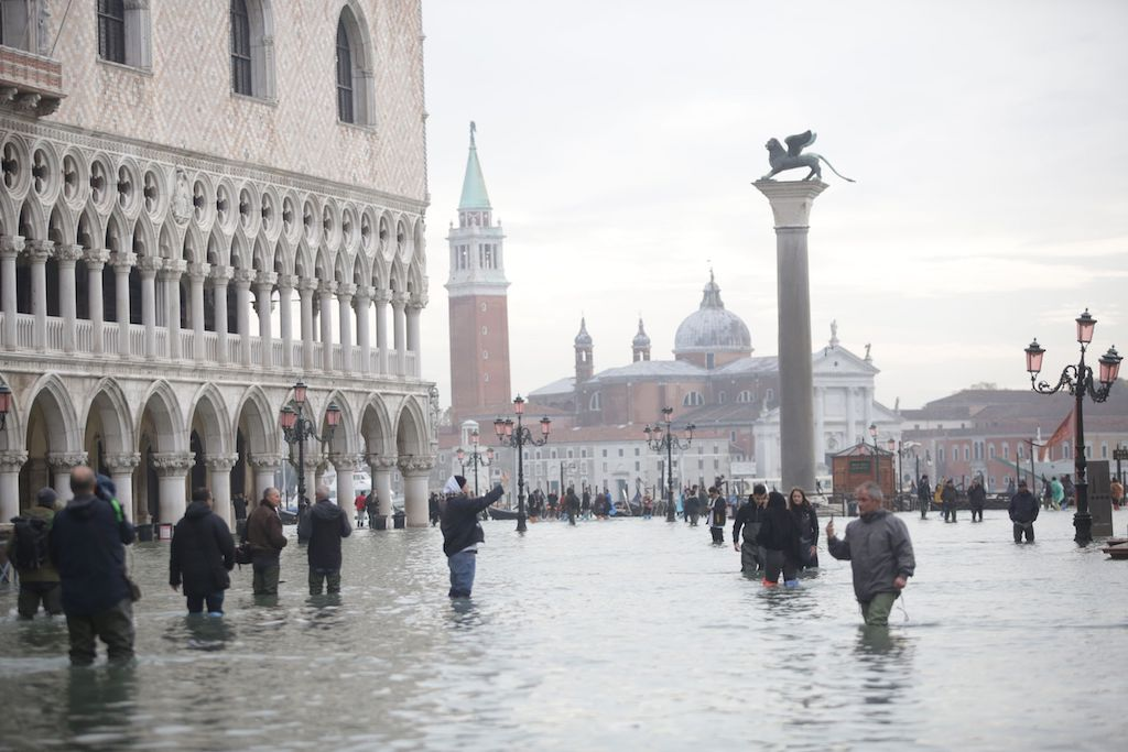 Venetian Museums and Galleries Shutter As Unprecedented Flooding Leaves Most of City Underwater