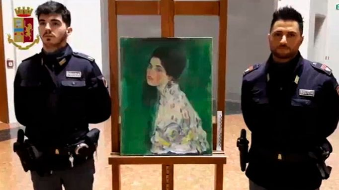 Stolen Gustav Klimt Painting May Have Been Discovered in an Italian Gallery's Wall