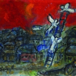 Marc Chagall's 'Jacob's Ladder'.