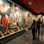Thomas Hart Benton's mural 'America Today'