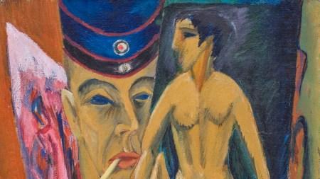 Ernst Ludwig Kirchner, Self-Portrait as a