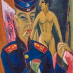 Ernst Ludwig Kirchner, Self-Portrait as a