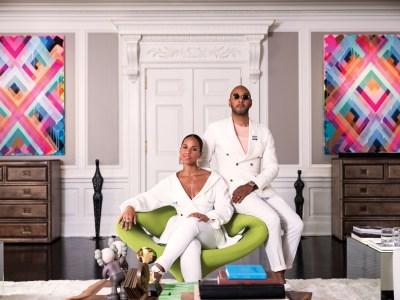 Alicia Keys and Kasseem 'Swizz Beatz'