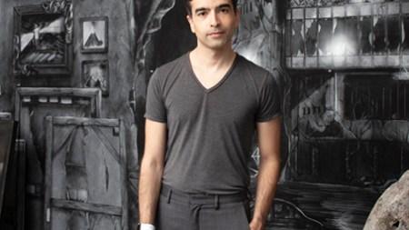 Portrait of Alexandre Singh in his