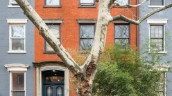 The exterior of the $18.5 million townhouse in Greenwich Village.