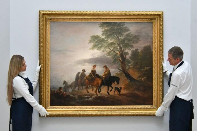 Thomas Gainsborough, Going to Market, Early