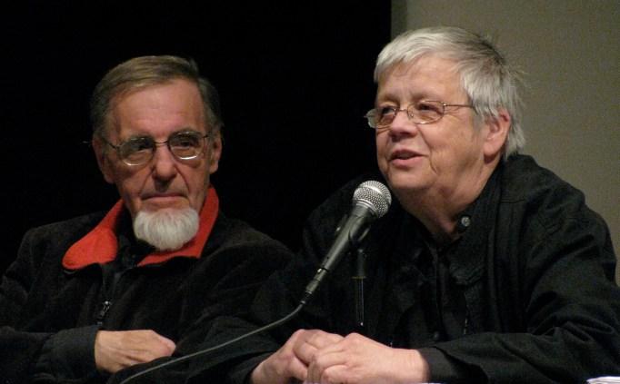 Woody Vasulka and Steina.
