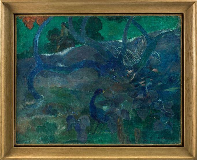 'Te Bourao II', Paul Gauguin (1897)