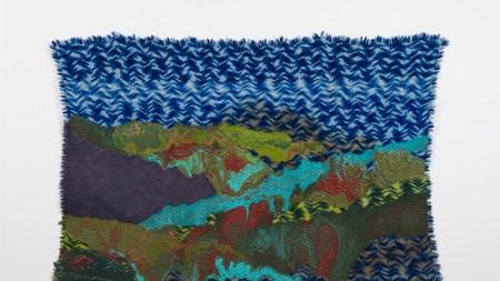 Rodney McMillian, 'Untitled (landscape on blue
