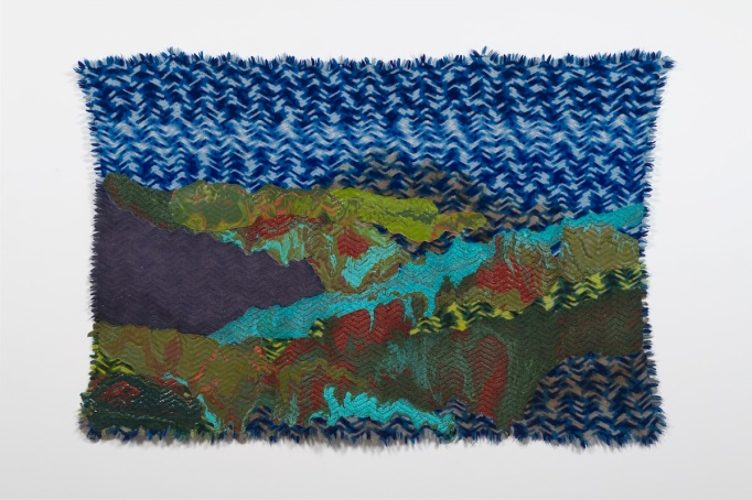 Rodney McMillian, 'Untitled (landscape on blue