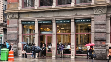 Dean & DeLuca's SoHo flagship in