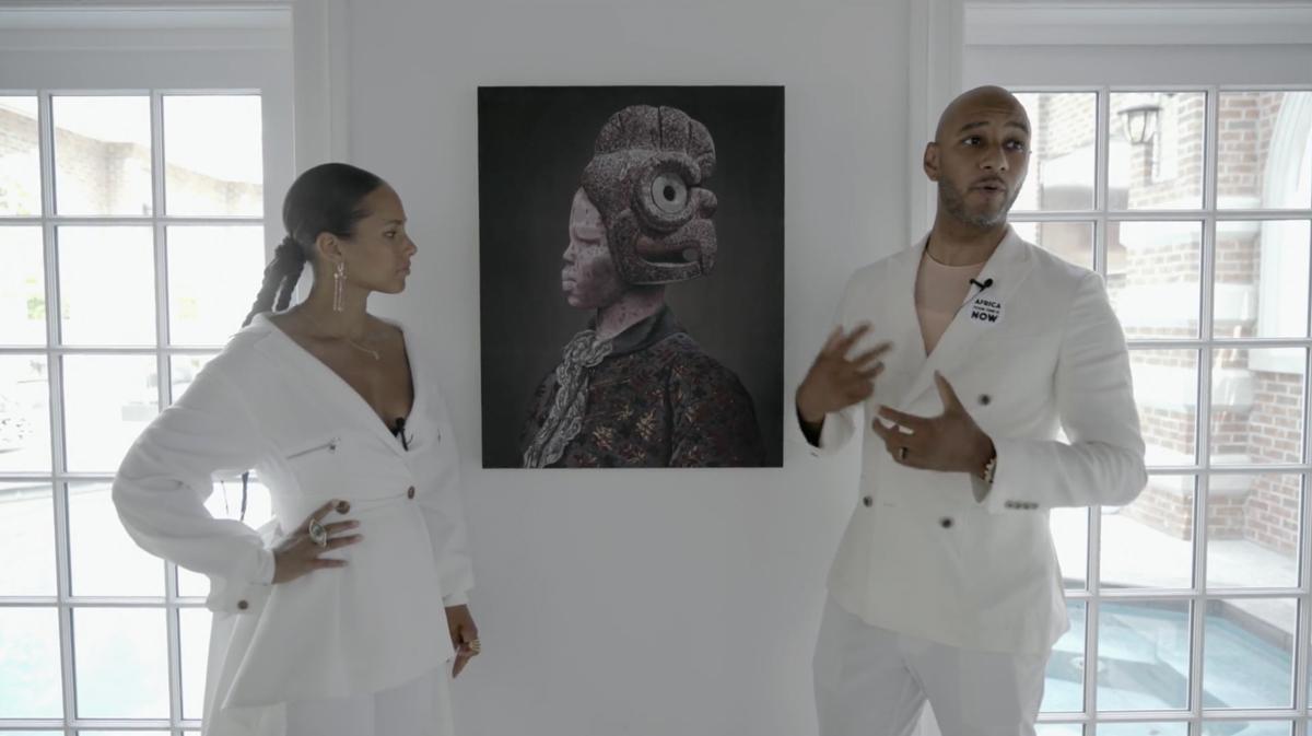 Swizz Beatz And Alicia Keys On 4 Works From Their Collection Artnews Com