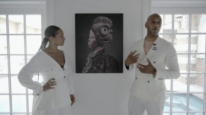 Alicia Keys, Swizz Beatz, art collection